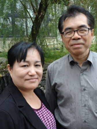 Pastor Shin Liang Chen (right) and Elder Li-Jhu Gu (left) have helped revitalize Juang San Presbyterian Church.