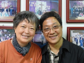 Pastors Hau-Sheng Chng (right) and Shin-Hui Chen (left)