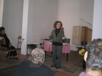 The Rev. Eszter Dani, head of the RCH's Mission Department, works with Roma people in Hungary and neighboring Ukraine.