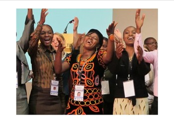 African churches celebrate fifty years of the All Africa Conference of Churches at its 10th Assembly in Kampala, Uganda.
