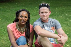 Bree Newsome and Jimmie Tyson.