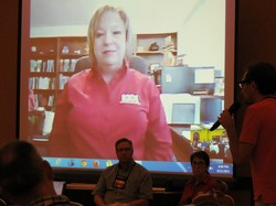 "During a Skype session, PMA Board Chair Marilyn Gamm tells conference-goers that the New Worshiping Communities movement is ""the life and energy"" of the church."