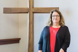 Karen Russell, program manager for the Company of New Pastors.