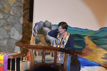 Conference preacher Carla Pratt Keyes.