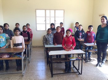 For the first time in five years, some Syrian refugee children are able to attend school on a regular basis.