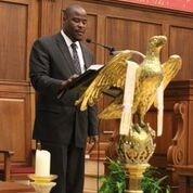 The Rev. Alonzo Johnson delivered the sermon to open CPJ Training Day at the New York Avenue Presbyterian Church in Washington, D.C.