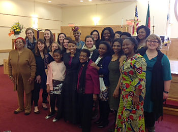 Fourteen young women from across the PC(USA) participated in the 60th United Nations Commission on the Status of Women. Delegates were sponsored by the Racial Ethnic & Women's Ministries of the Presbyterian Mission Agency.