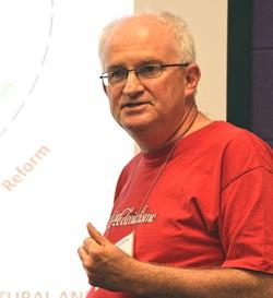 Steve Barrett, Consultant, Centro Ecuménico de Integracion Pastoral (CEIPA) in Guatemala
