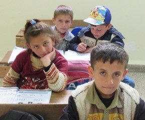 Children from Syrian refugee camps in Lebanon are learning to read and write for the first time. Five days each week, they receive lessons in Arabic, English, math, science, and Bible ethics. At the end of the day they get a hot meal.