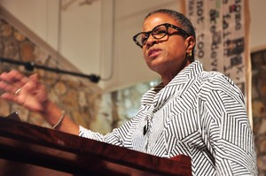 The Rev. Dr. Yvette Flunder spoke Friday evening during the weekend Teach-In at Montreat commemorating Dr. Martin Luther King Jr's. Message at the Christian Action Conference in 1965.