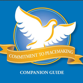 Commitment to Peacemaking companion guide cover