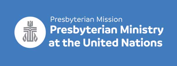 Presbyterian Ministry at the United Nations logo banner
