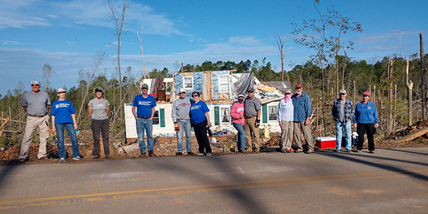 South Carolina tornado survivors