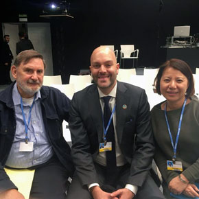UN Climate Conference attendees