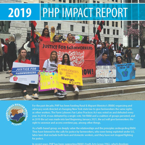 2019 PHP Impact Report cover