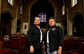 Detroit women attending an SDOP presentation