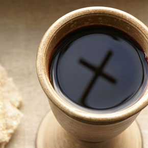 chalice with cross