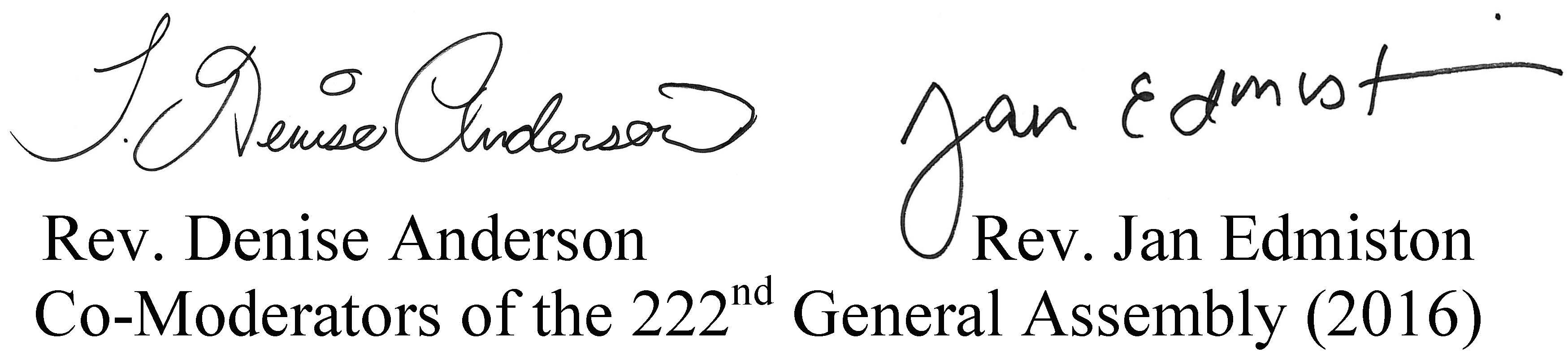 CoModerator Signatures