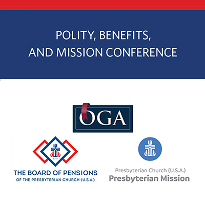 Logo for Polity Benefits and Mission Conference