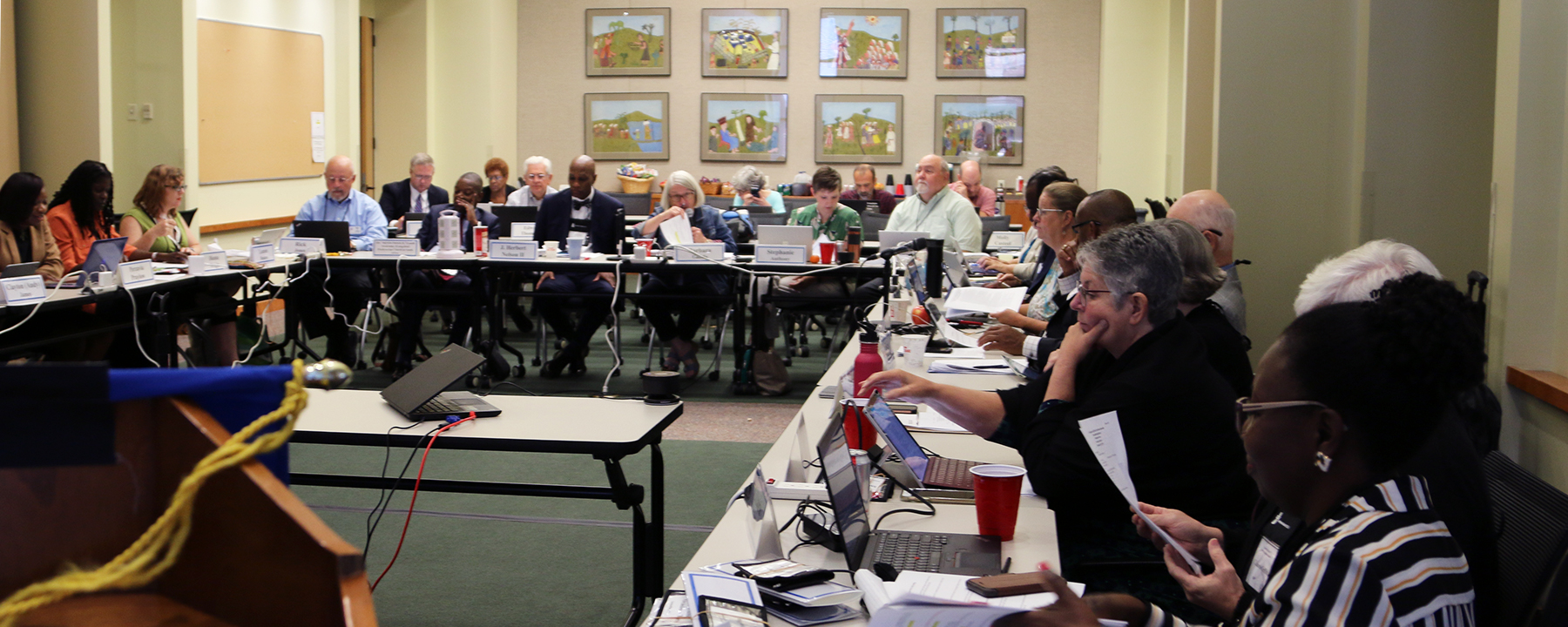 COGA holds its fall meeting at the Presbyterian Center in Louisville. Photo by Randy Hobson.