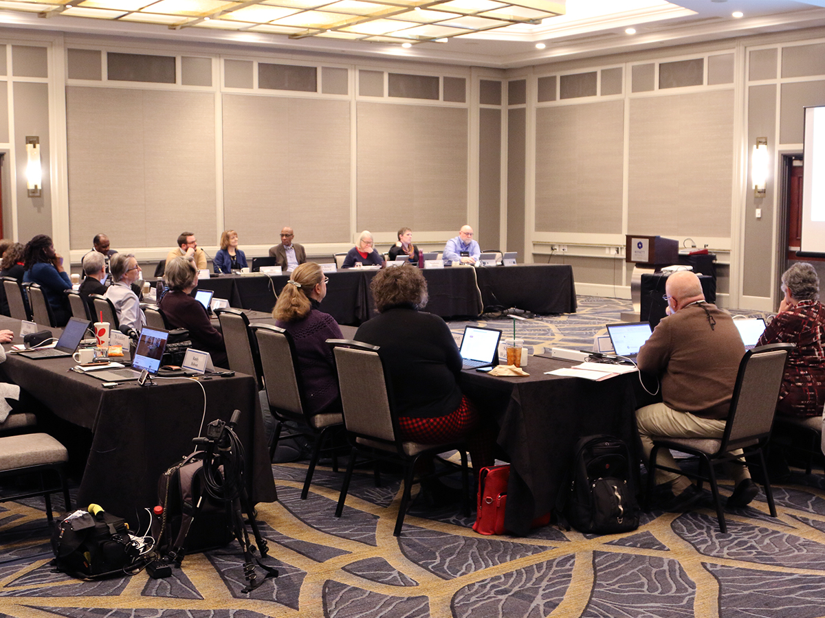 COGA is meeting in Baltimore through midday Friday. Photo by Randy Hobson.