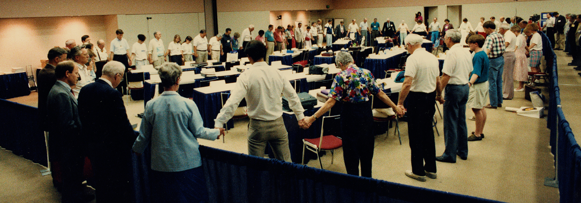 """Human Sexuality Committee at the 203rd General Assembly, Baltimore, Maryland, 1991. Via PHS Pearl online archives."""