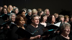 The Assembly choir sings during the Thursday morning worship service at the 221st General Assembly (2014) of the PC(USA) in Detroit, MI on Thursday, June 19, 2014.