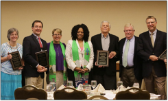 PC(USA) leaders with recipients of Ecumenical and Interreligious Service Awards.