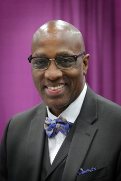 Newly elected Stated Clerk of PC(UAS) J. Herbert Nelson - Photo: Danny Bolin