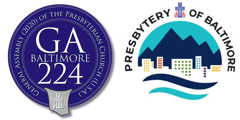 GA224 Medallion and Presbytery of Baltimore Logo