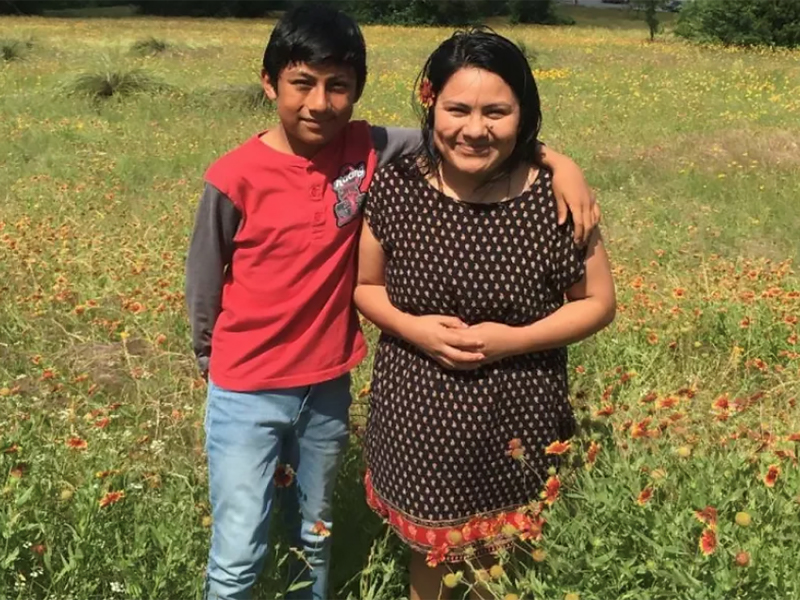 Hilda and Ivan left Guatemala for a better life in the U.S. They've spent the past four years in sanctuary. Photo by Lynn Cervini.