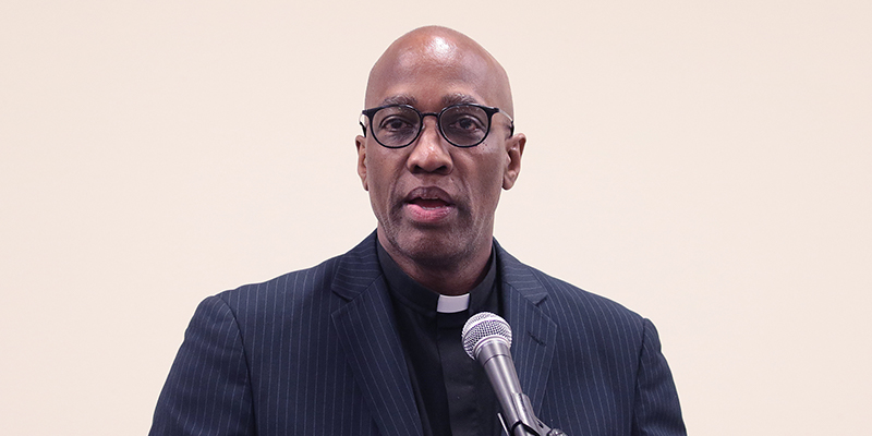 The Rev Dr J Herbert Nelson, II, Stated Clerk of the General Assembly of the Presbyterian Church USA