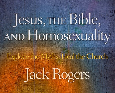 Book Cover - Jesus, the Bible and Homosexuality