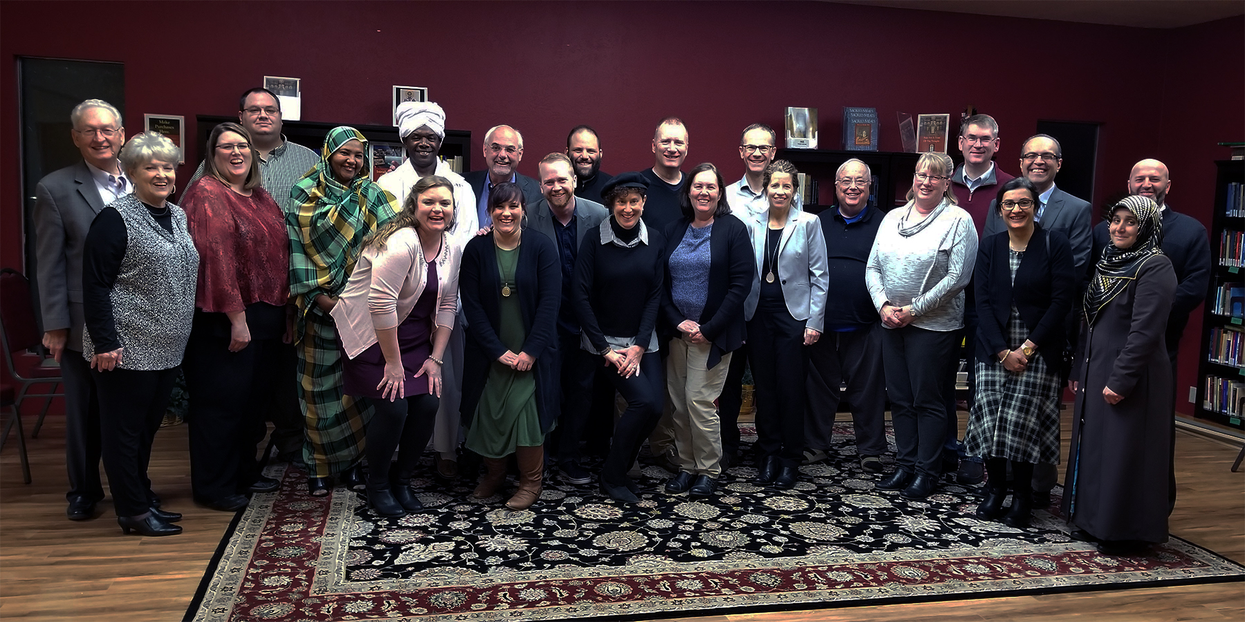 Members of the Magic Valley Interreligious Dialogue group at a recent dinner with their spouses in Twin Falls, Idaho. Photo provided.