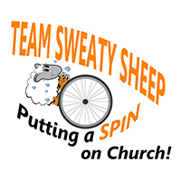Team Sweaty Sheep = Putting a Spin on Church!
