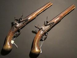 Colonel Gardiner's dueling pistols, September 2017
