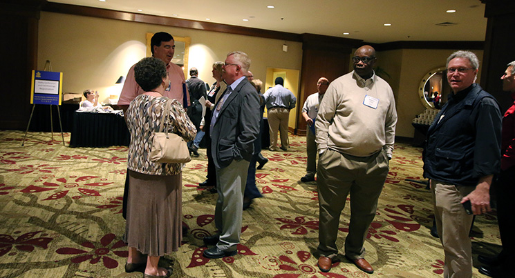 participants gather for 2015 fall meetings