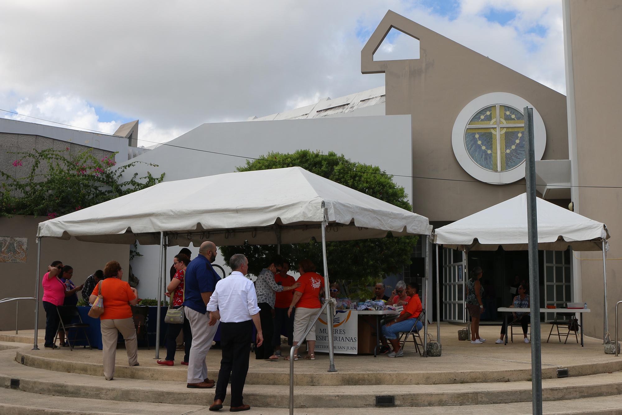 "San Juan Presbytery hosted one of its monthly ""Rise and Shine"" events at the Bayamón Presbyterian Church. Photo by Rick Jones."