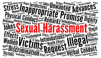 Sexual Harrassment Word Cloud