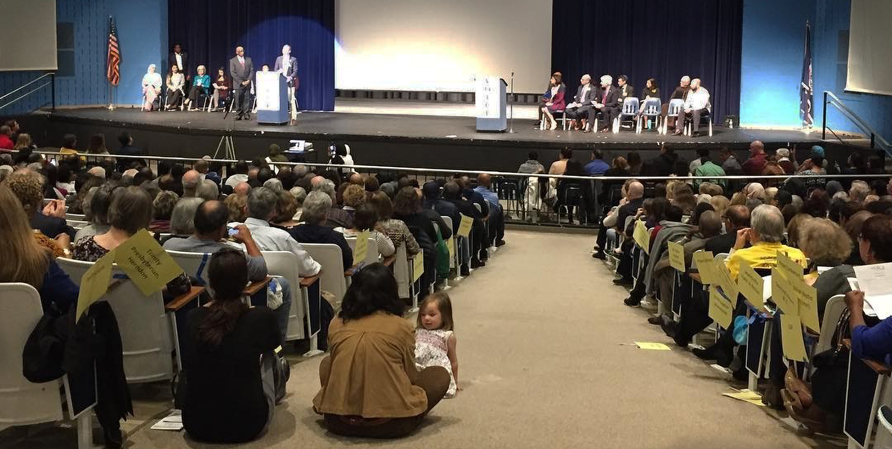 More than 1,300 people gathered in Virginia on Sunday to hear State Attorney General Mark Herring call for reforms to the state's cash bail system. The event was sponsored by Virginians Organized for Interfaith Community Engagement (VOICE).