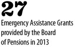 2013 Emergency Assistance Stats