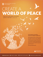 Peace & Global Witness Poster
