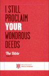 "Pentecost Bulletin Insert - ""I still proclaim your wondrous deeds"""